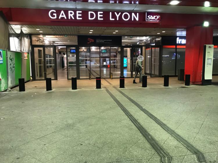 Sécurisation de la gare de Lyon